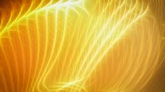 Golden warm energy stripes - stock illustration