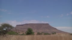 Landscape os desert Stock Footage