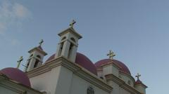 Monastery of the Twelve Apostles Stock Footage