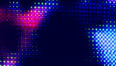 Animated Light Screen Dots Stock Footage