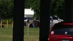Hutchins Bomb Squad 1 - stock footage
