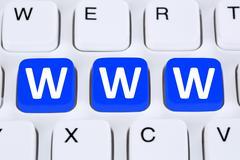 Stock Illustration of Internet www world wide web online on computer