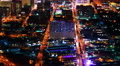 4K Las Vegas Timelapse Cityscape 36 Downtown at Night Footage