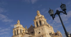 Cathedral of Cordoba inclined Stock Footage