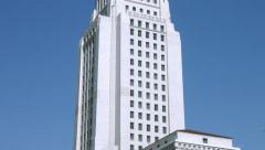 4K, UHD, Los Angeles City Hall, California Stock Footage