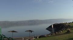 Lake Galilee. Stock Footage