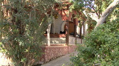 Monastery of St. Gerasimos of Jordan Stock Footage