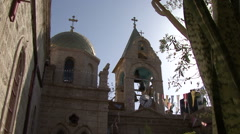 Chapel of the patio Stock Footage