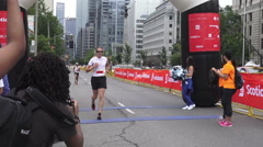 Scotiabank Rat Race for United Way 2015 Stock Footage