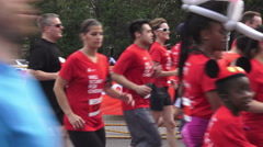 Scotiabank Rat Race for United Way 2015 - stock footage
