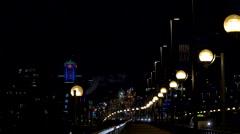 Vancouver - City View - Night - 30P - ProRes 4:2:2 10 Bit - UHD 4K Stock Footage