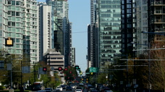 Vancouver - Downtown - 30P - ProRes 4:2:2 10 Bit - UHD 4K - stock footage