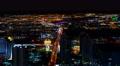 4K Las Vegas Timelapse Cityscape 51 Night Footage
