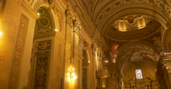 Cordoba cathedral ceiling Stock Footage
