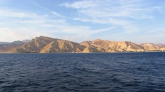 The coast of the Sinai Stock Footage