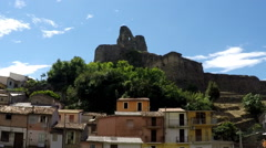 Norman's Castle, Time Lapse, South Italy Stock Footage