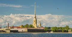St. Petersburg. Peter and Paul Fortress Stock Photos