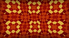 Traditional Folk Sufi Kaleidoscope Loopable Background - stock footage