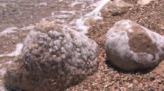 Salt Stones in the Sinai Peninsula Stock Footage