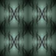 Seamless pattern green black Stock Illustration