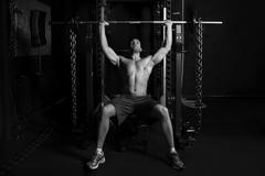 Bodybuilding Weightlifting Stock Photos