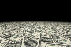 USA dollars money background. - stock illustration