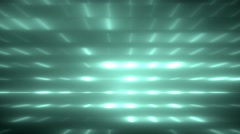 Bright neon flood lights disco background. Stock Footage