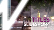 Stock After Effects of Titles Slideshow - After Effects Template