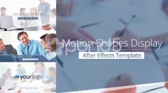 Motion Shapes Display - Apple Motion 5 and Final Cut Pro X Template Kuvapankki erikoistehosteet