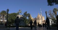 Square San Martin, Córdoba Stock Footage
