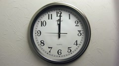 Clock 1 Hour - stock footage