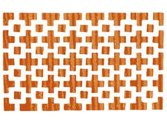 patterned grating - stock illustration