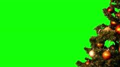 Christmas tree 17 (4k) Stock Footage