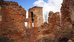 Fortress ruins Stock Photos