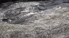 The rapid flow of the rive 7 Stock Footage