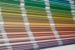 Stock Photo of color sampler
