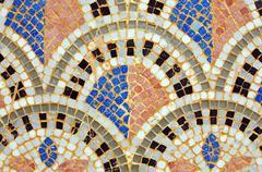 arab mosaic - stock photo