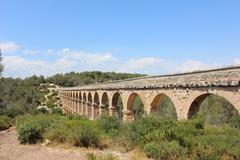 Roman Aquaduct Stock Photos