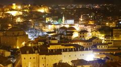 Stock Video Footage of Night Timelapse, Traditional Ottoman Anatolian Village, Safranbolu, Turkey
