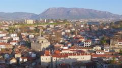 Stock Video Footage of Day Timelapse, Traditional Ottoman Anatolian Village, Safranbolu, Turkey