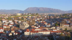 Stock Video Footage of Day Timelapse, Traditional Ottoman Anatolian Village, Safranbolu, Turkey, zoom