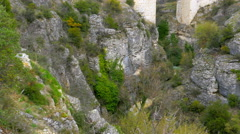 Aqueduct, roman style water arch, safranbolu, turkey Stock Footage