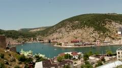 Bay of Balaclava Stock Footage