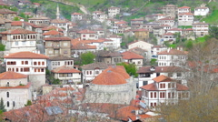 View of Traditional Ottoman Anatolian Village, Safranbolu, Turkey - stock footage