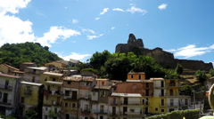 Norman's Castle,  Real Time, South Italy Stock Footage