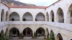 View of Traditional Ottoman Anatolian Village, Safranbolu, Turkey - stock footage