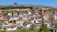 Stock Video Footage of View of Traditional Ottoman Anatolian Village, Safranbolu, Turkey