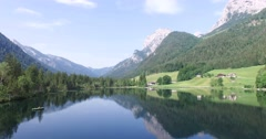 Hintersee, Berchtesgaden, Germany Stock Footage