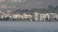 General city view, daliy life, izmir, turkey Stock Footage