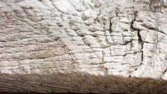 Old wooden board 4k background Stock Footage
